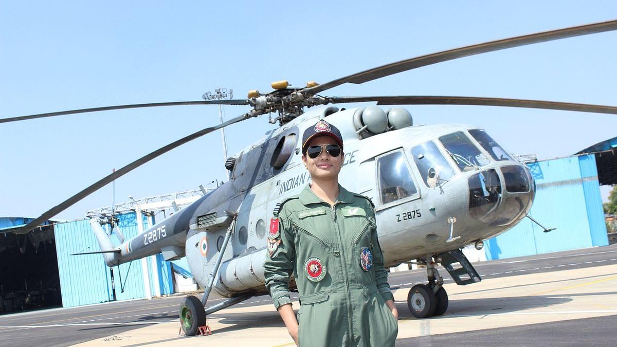 Flight Lieutenant HinaJaiswal