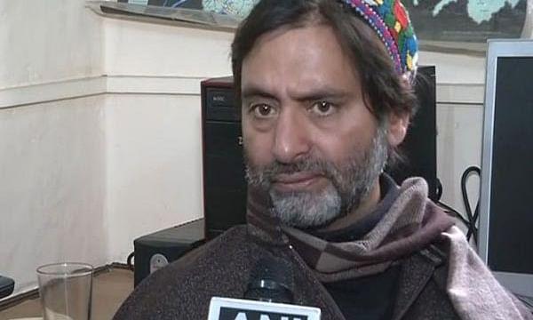 जम्मू कश्मीर को बांटने वालों पर हुई करवाई, जमात-ए-इस्लामी कैडर प्रमुख यासीन मलिक हिरासत में