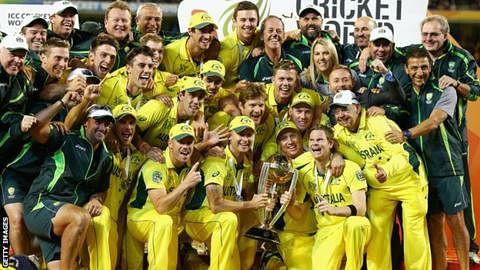 आस्ट्रेलिया : (पांच बार की चैम्पियन)