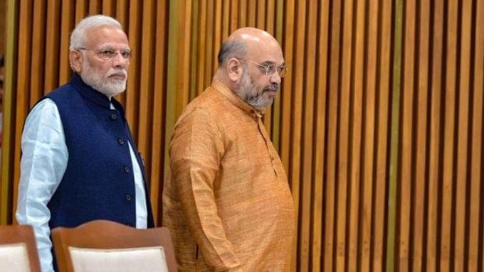 लोकसभा चुनाव 2019 की तैयारियों के बीच प्रधानमंत्री नरेंद्र मोदी और अमित शाह