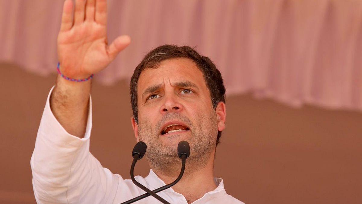 कर्नाटक में कांग्रेस की रैली