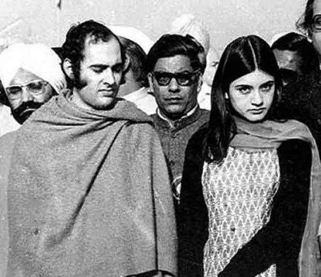 संजय गांधी और मेनका गांधी