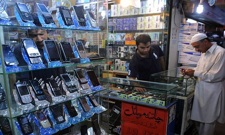 Chinese Mobile market in pakistan