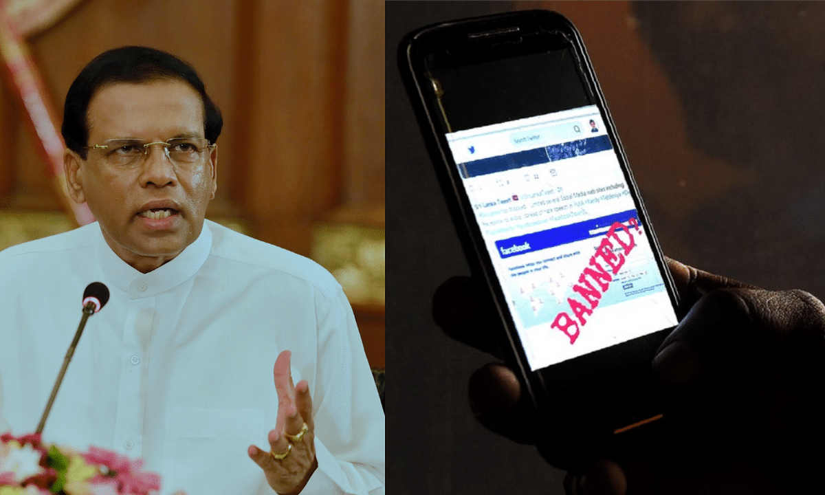 """चेतावनी के साथ श्रीलंका में सोशल मीडिया पर लगा प्रतिबंध हटा, सरकार ने कहा - """"जो भी हो, जिम्मेदारी खुद लेनी होगी"""""""