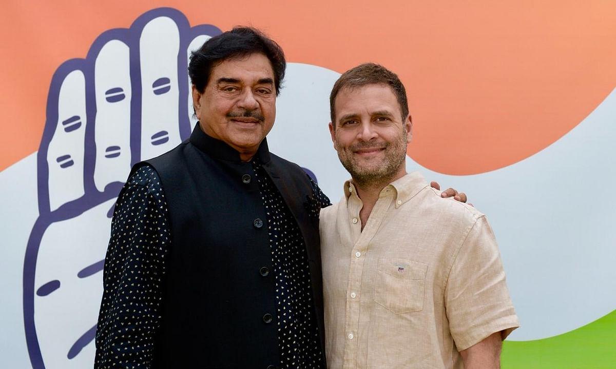 भारी मन और दर्द के साथ शत्रुघ्न सिन्हा ने बीजेपी छोड़ कांग्रेस ज्वाइन की!