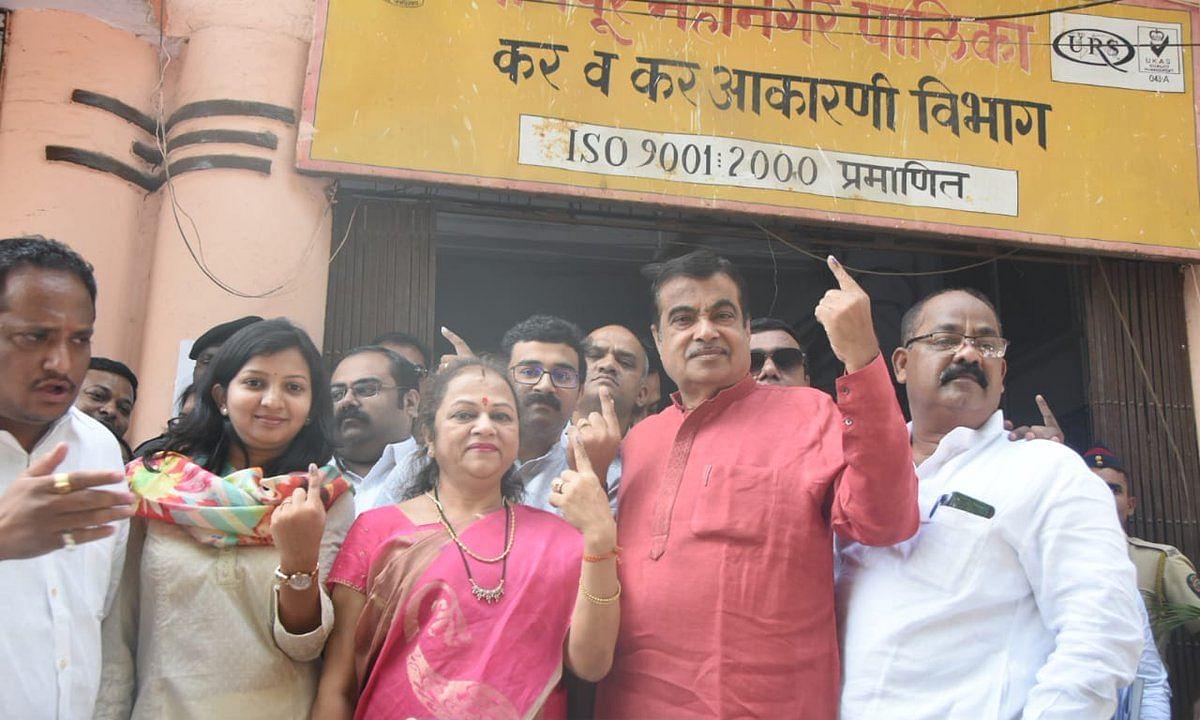 चुनाव से पहले ही बीजेपी नेता गडकरी के नाम के आगे लग गयी 'रिजेक्टेड' की मुहर