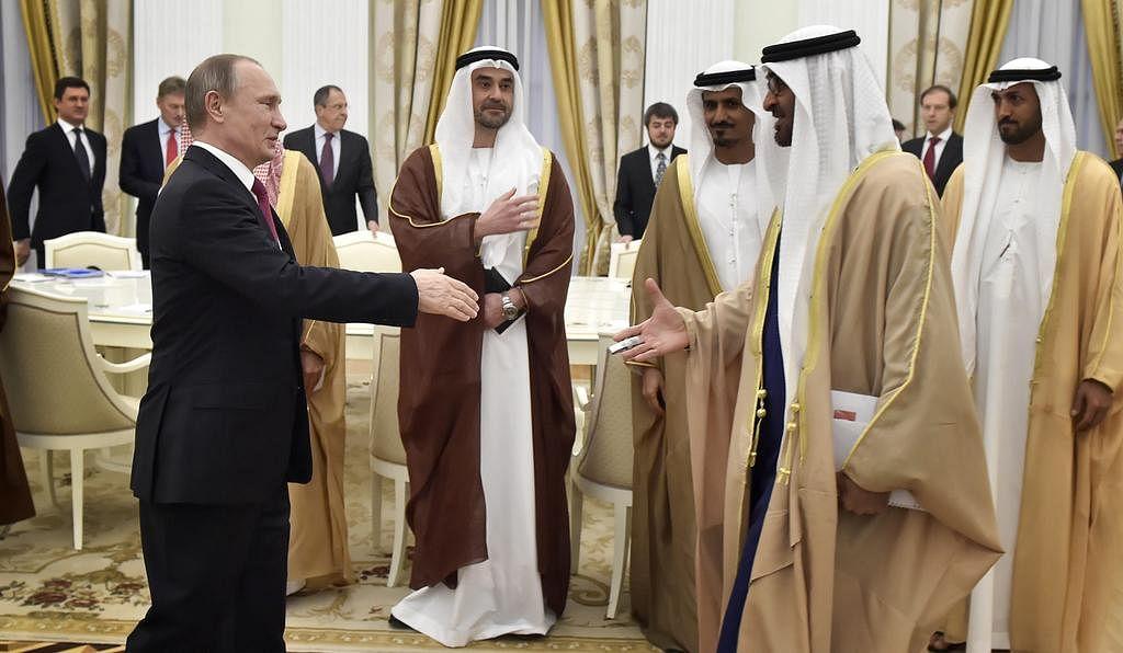 रूसी राष्ट्रपति व्लादिमीर पुतिन को 2007 में जायेद पदक से सम्मानित किया गया