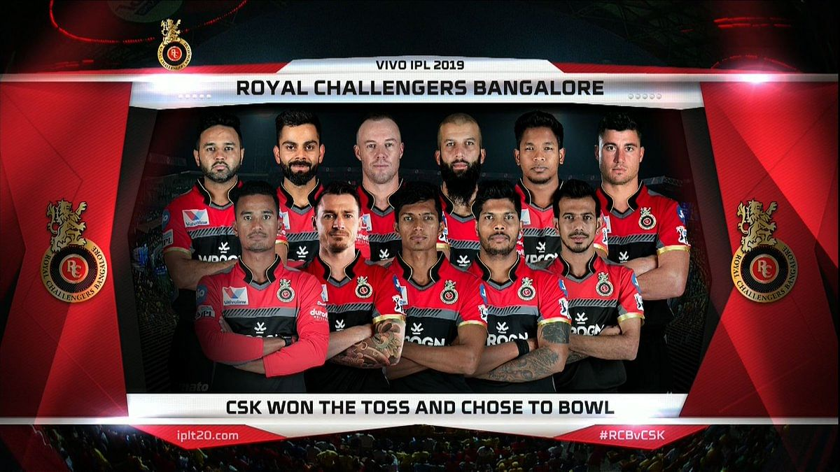 Team - Royal Challengers Bangalore