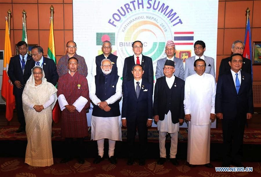 BIMSTEC in Oath Ceremony
