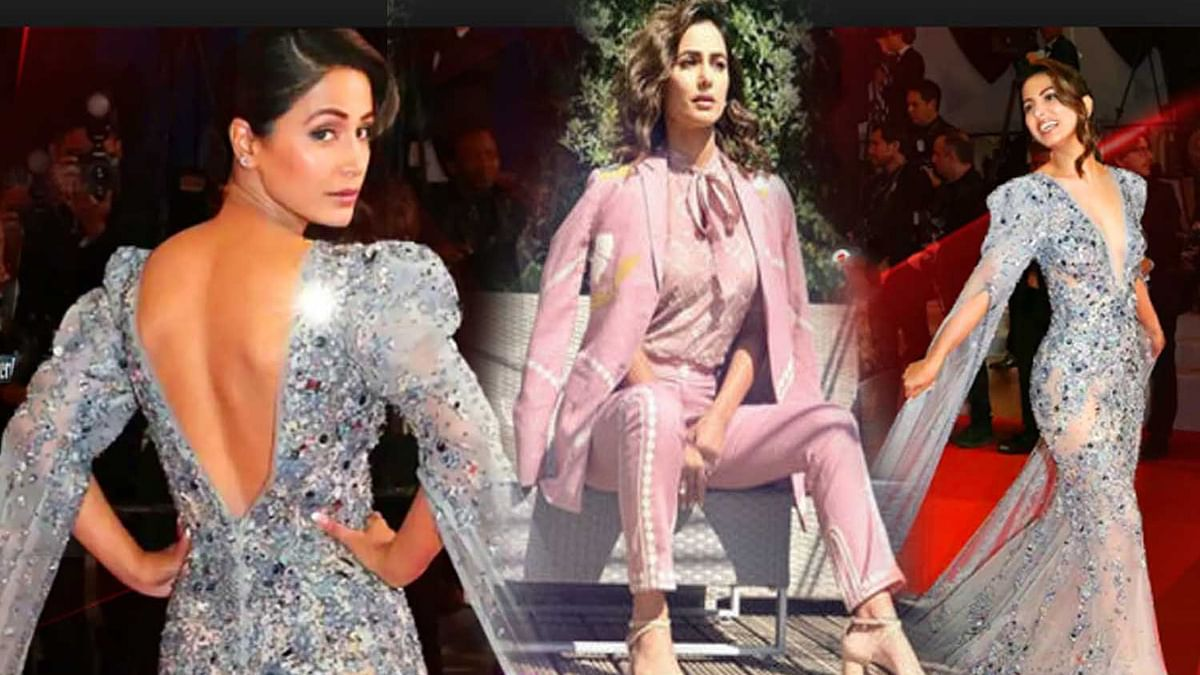 Hina khan in cannes 2019