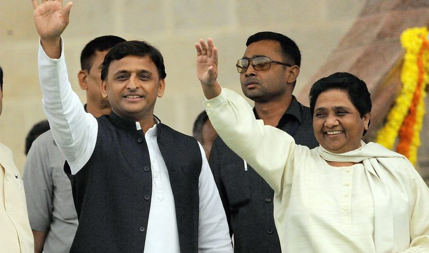 akhilesh and mayawati