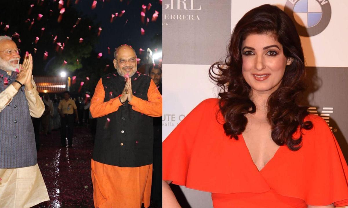 प्रधानमंत्री नरेंद्र मोदी की जीत पर क्या बोली ट्विंकल खन्ना, फ़िल्मी सितारों ने भी किए ट्वीट