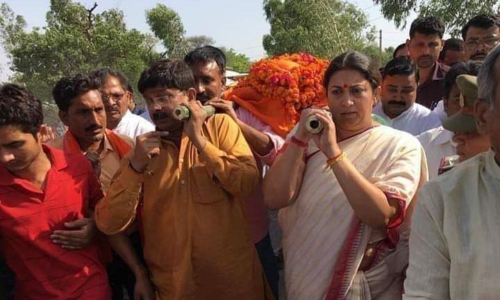 अमेठी में राजनैतिक हत्या, अपराधियों की धर पकड़ शुरू