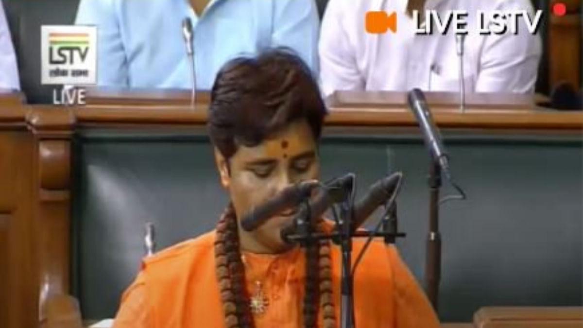 Bhopal MP Pragya Singh Thakur