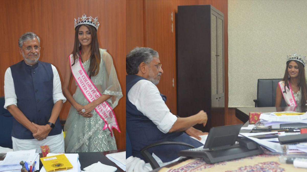 बिहार के डिप्टी CM और श्रेया शंकर