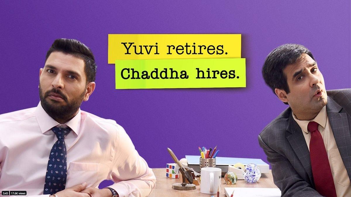 Yuvi Retires, Chaddha Hires