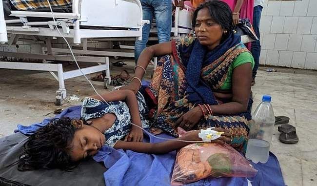 मुजफ्फरपुर में बच्चों की मौत