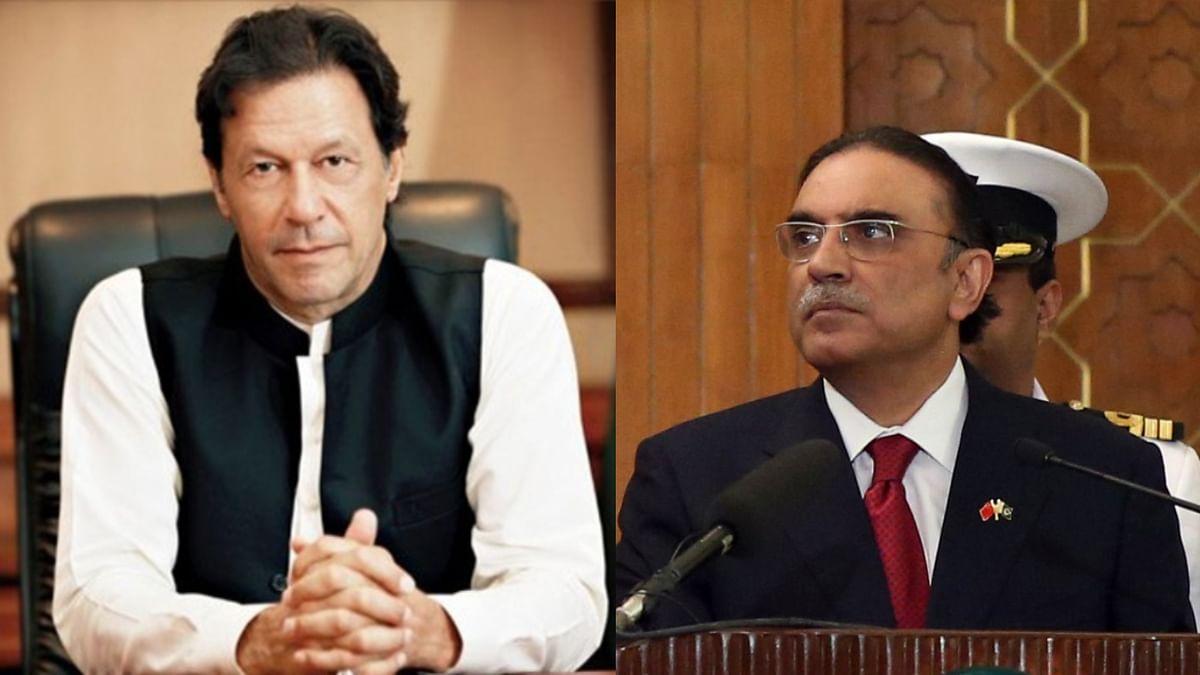 इमरान खान और आसिफ अली जरदारी