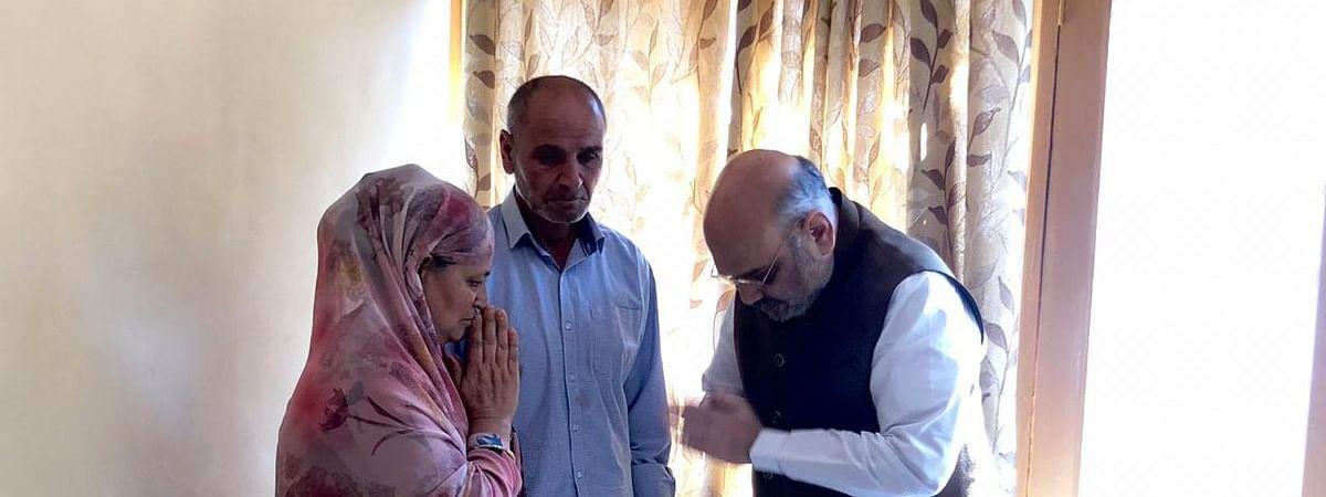 दो दिवसीय कश्मीर दौरे पर अमित शाह