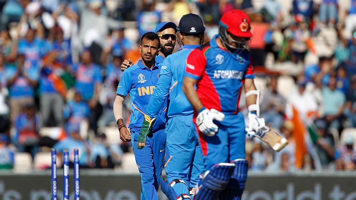 IND vs AFG World Cup