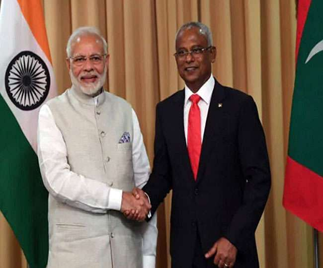 PM modi in maldives