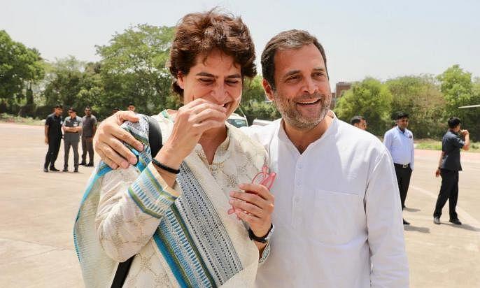 राहुल गांधी के इस्तीफे पर जो प्रियंका ने कहा उसे कहते हैं भाई-बहन का प्रेम