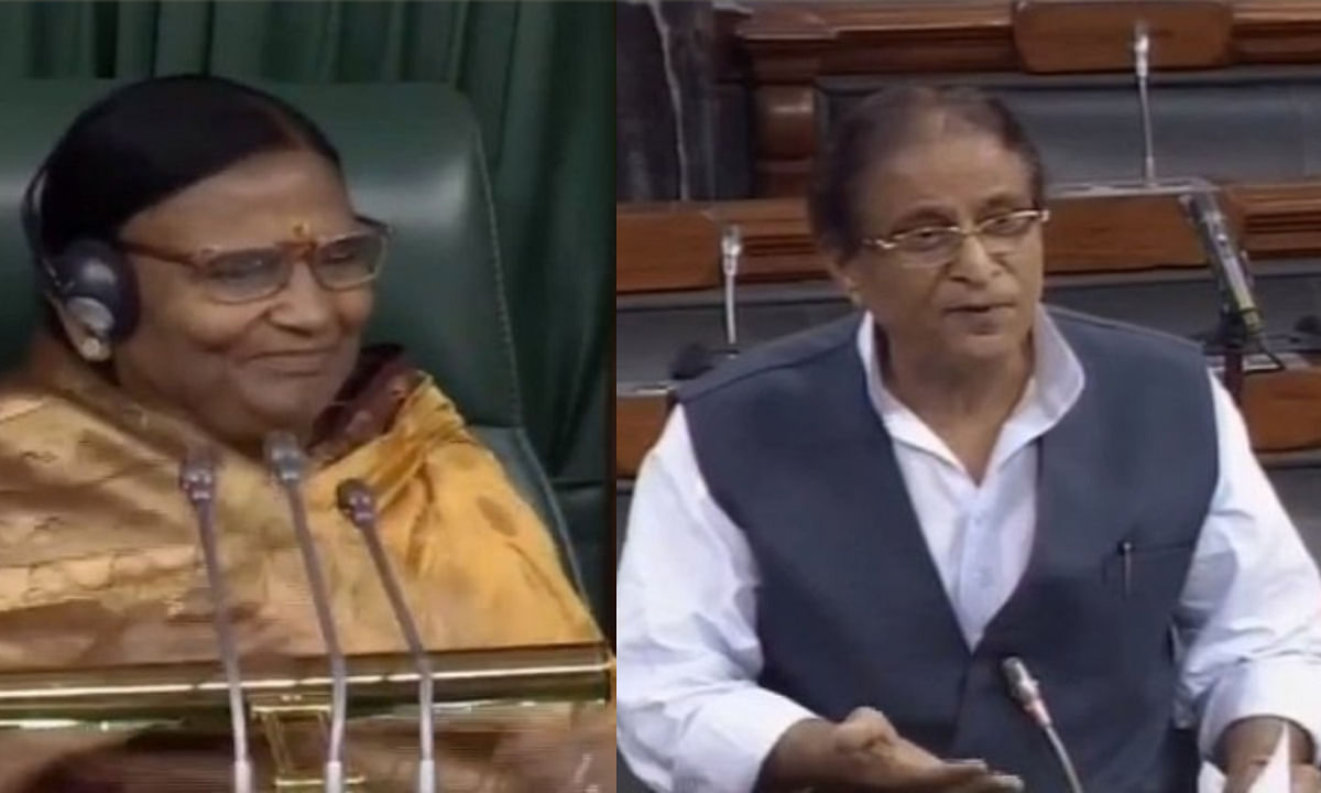 बीजेपी MP रमा देवी को देखकर बोले आजम खान, 'आप मुझे बहुत अच्छी लगती हैं', फिर हो गया बवाल
