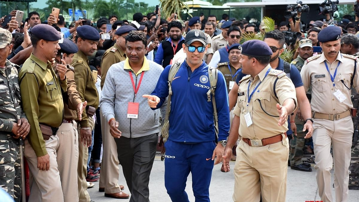 MS Dhoni In Ranchi