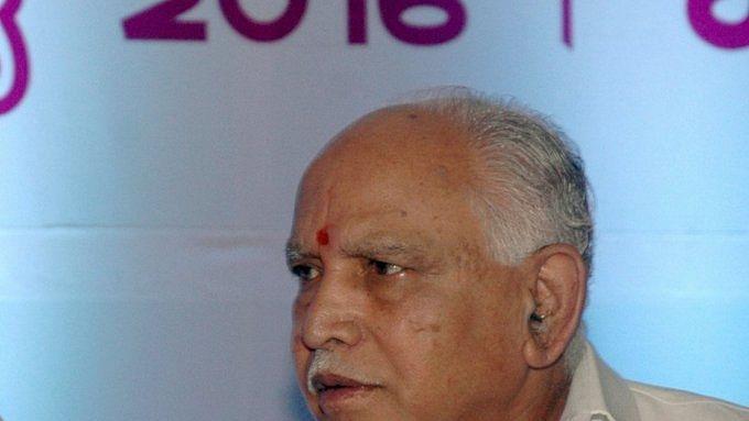 Karnataka BJP leader B S Yeddyurappa