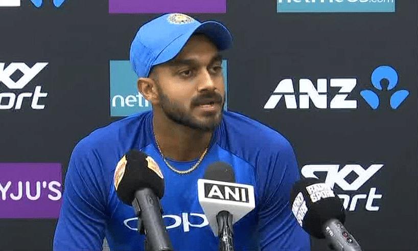 भारतीय टीम के आल राउंडर विजय शंकर वर्ल्ड कप से बाहर , मैच न खेलने की बताई वजह