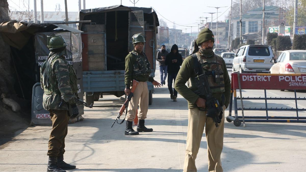 security forces operation in kashmir