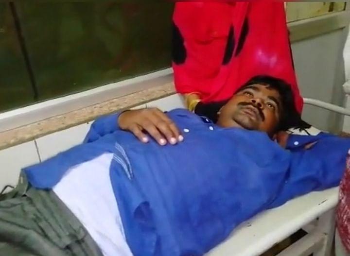 दुर्घटना में घायल सुरेंद्र सिंह