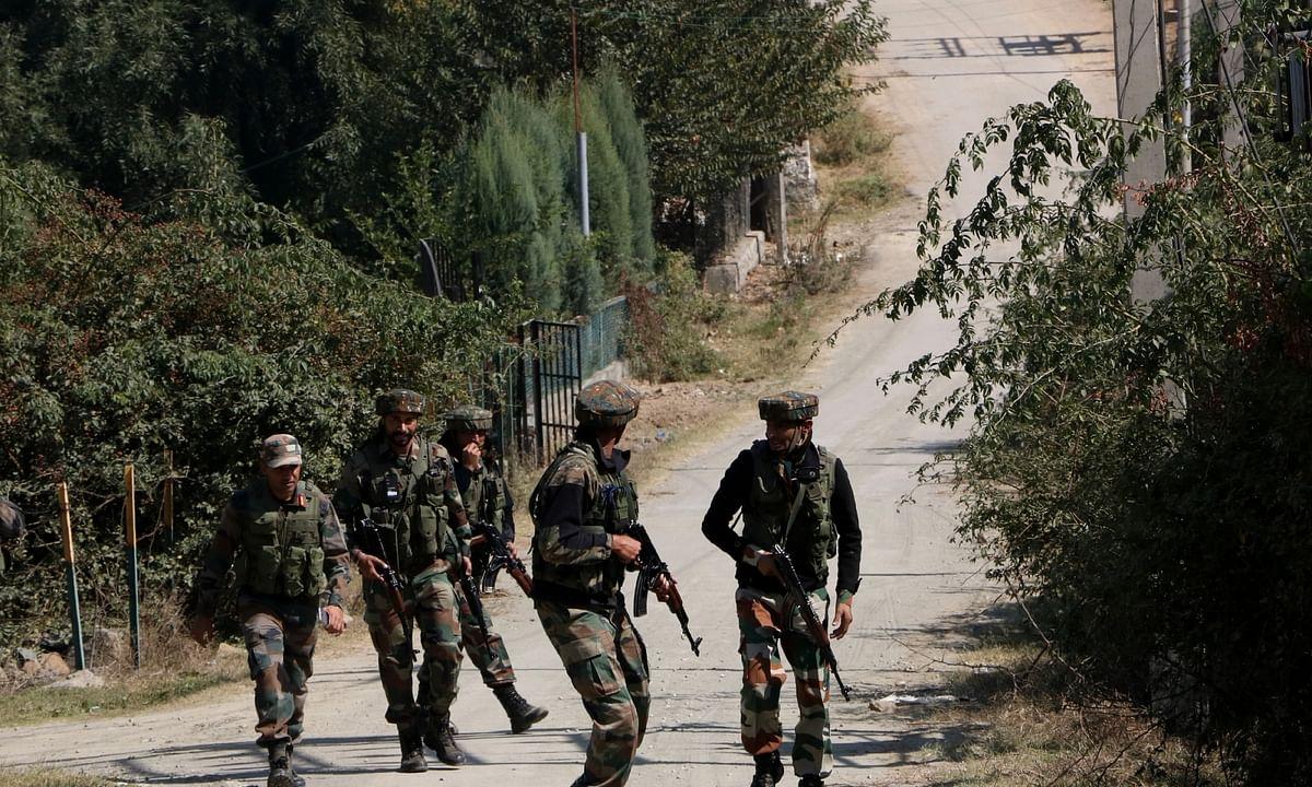 कश्मीर : मुठभेड़ में एसपीओ शहीद, आतंकी ढेर
