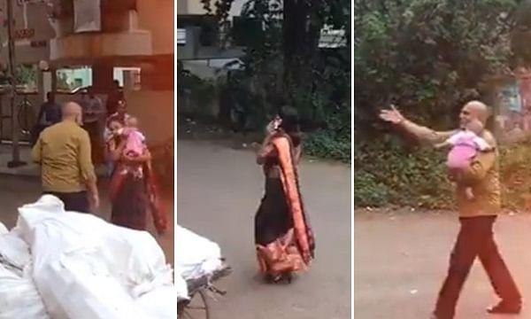 VIDEO: फोन की पागलैती चरम पर,  फोन के चक्कर में महिला ने अपने बच्चे को  ऑटो में छोड़ दिया