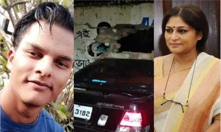 तेज गाड़ी चलाने को लेकर भाजपा सांसद रूपा गांगुली का बेटा गिरफ्तार