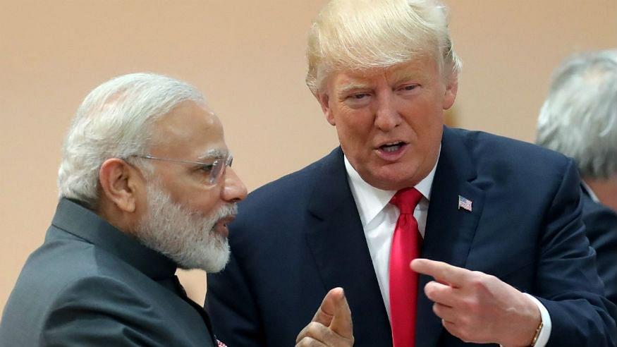 PM Modi Talks to US President