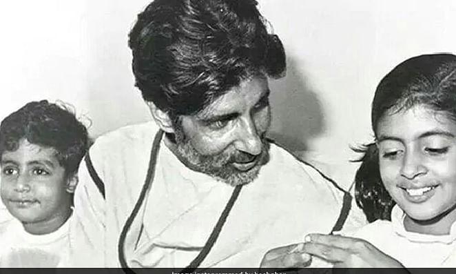 आज ही के दिन अमिताभ बच्चन ने लिया था दूसरा जन्म, बेटे अभिषेक ने शेयर की पुरानी फोटो