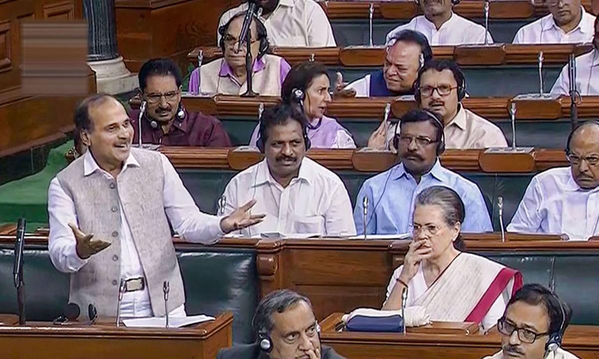 कांग्रेस नेता अधीर रंजन चौधरी फिर हुए 'अधीर' कहा 'पीएम लाल किले पर खड़े होकर कहें  मैं कश्मीरियों को गले लगाऊंगा'