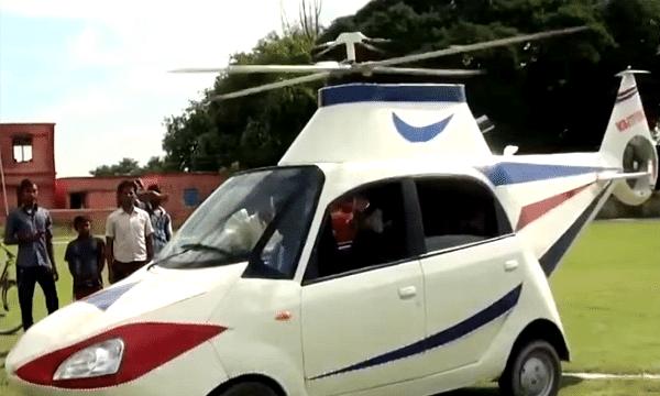 बिहार: पायलट नहीं बन सका तो तो घर पर ही हेलीकॉप्टर बना डाला