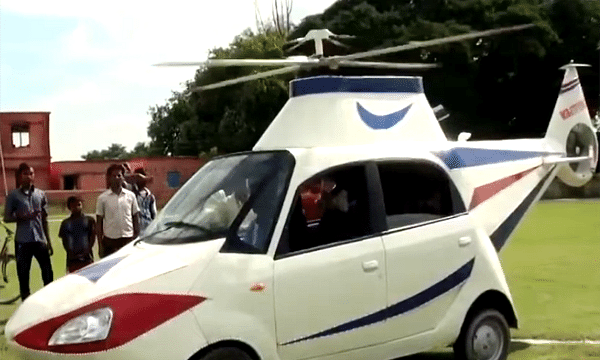 Tata nano to Helicopter