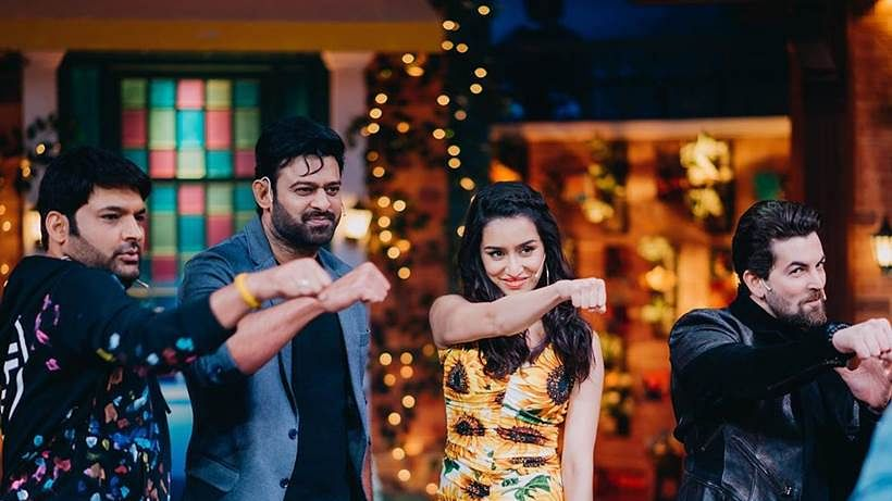 Team 'Saaho' at The Kapil Sharma Show
