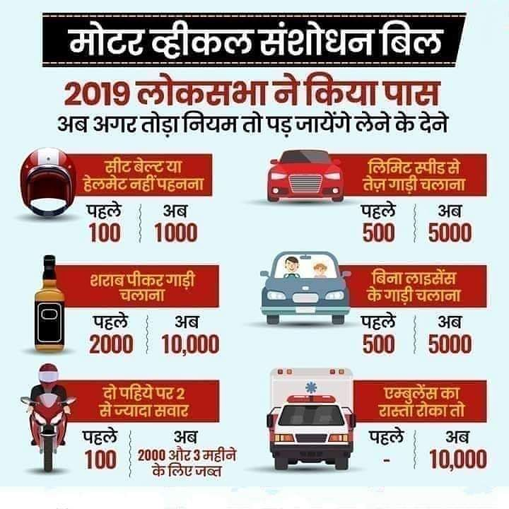 Motor Vehicle Act 2019