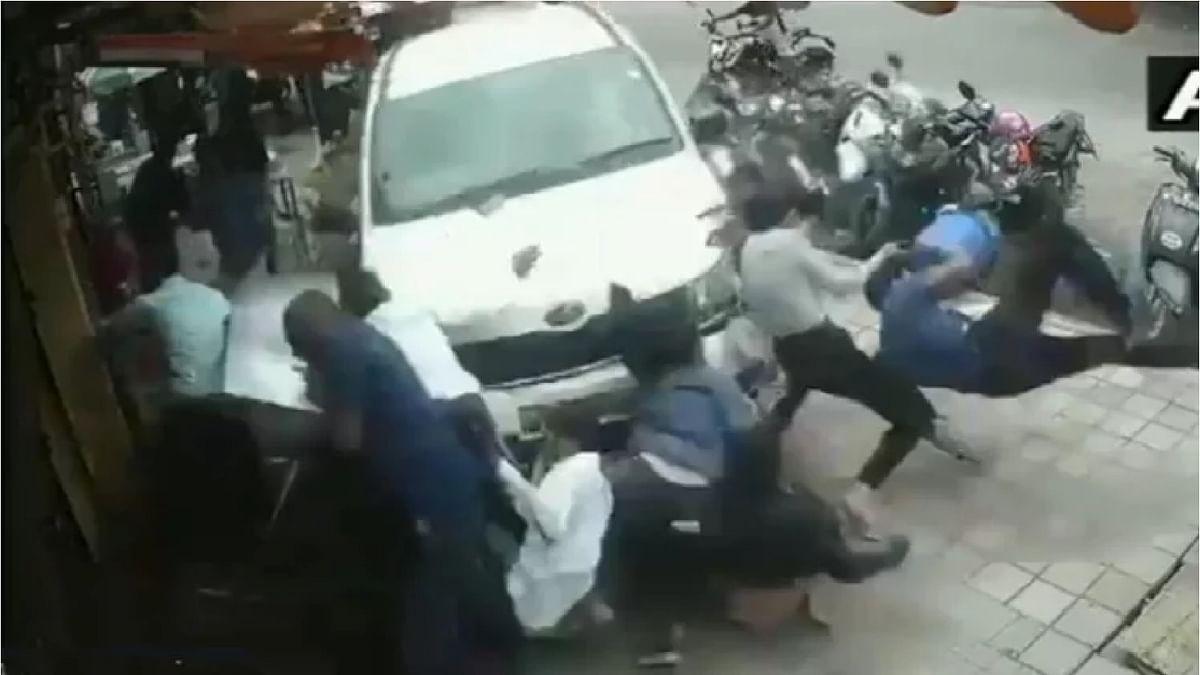 Bengaluru car accident viral video
