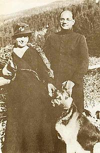 Subhash Chandra Bose  and His Wife Emili