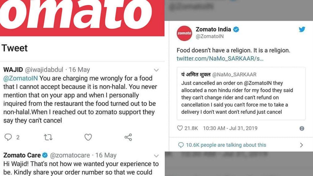 Zomato Controversy