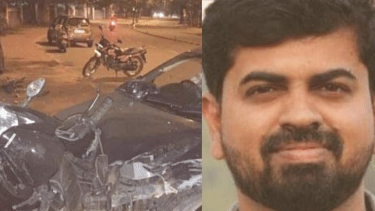 journalist Mohammad Basir Accident