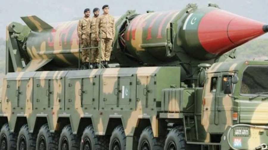 Ghaznavi missile Test Fire