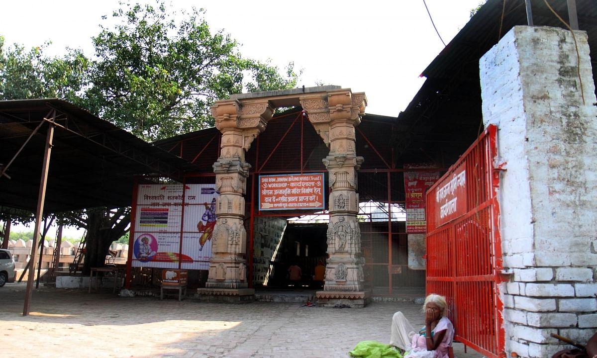 अयोध्या में आतंकी हमले का खतरा बढ़ाई गई सुरक्षा ।