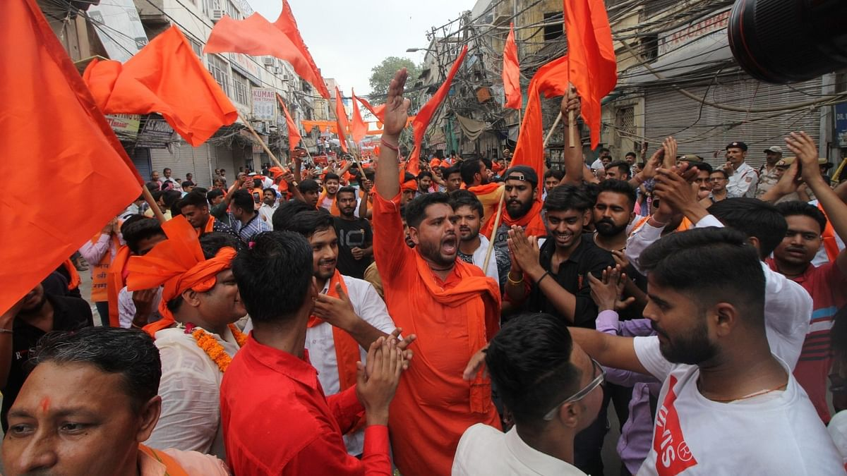 VHP Rally in Rajasthan