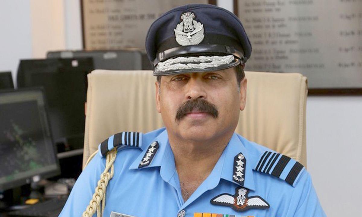 आर. के. भदौरिया ने वायु सेना प्रमुख के रूप में कार्यभार संभाला